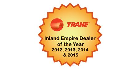 trane inland empire dealer of the year