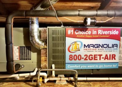 Magnolia Heating & Cooling installation