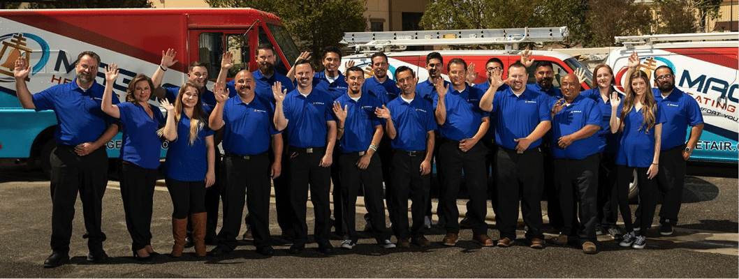 Magnolia Heating and Cooling team