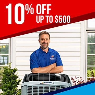 10% off up to $500