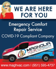 Covidbanner 3 - Magnolia Heating & Cooling - We are here for you